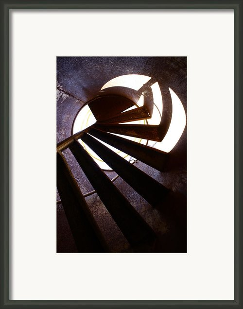 Steps Two See  Framed Print By Jerry Cordeiro