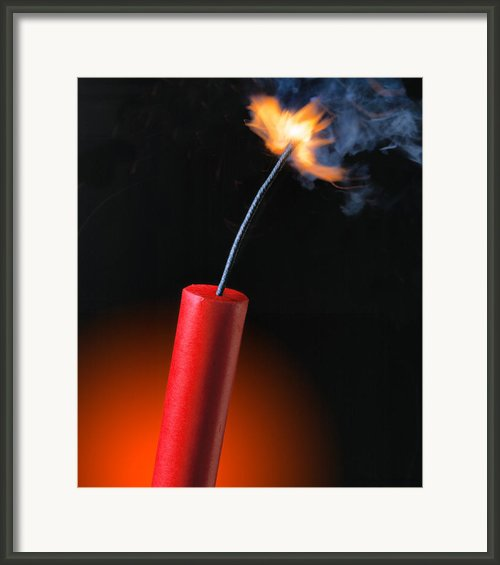 Stick Of Dynamite Framed Print By Utah Images