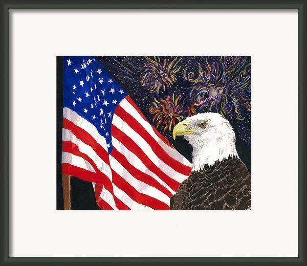 Still Free Framed Print By Joy Braverman