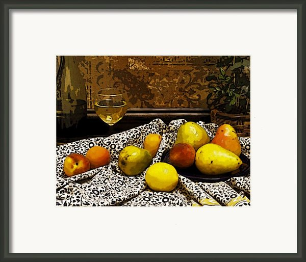 Still Life Framed Print By Marion Mccristall