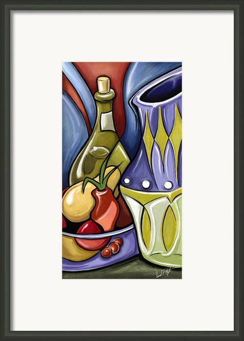 Still Life One Framed Print By David Kyte