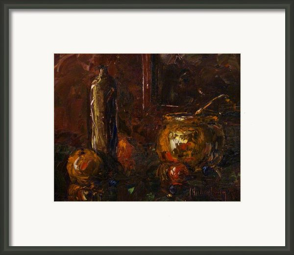 Still Framed Print By Michael Lang