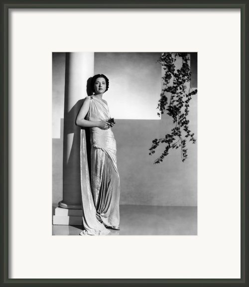 Stolen Holiday, Kay Francis, 1937 Framed Print By Everett