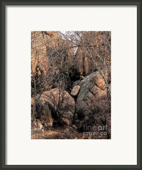 Stoned Framed Print By Robert Hooper