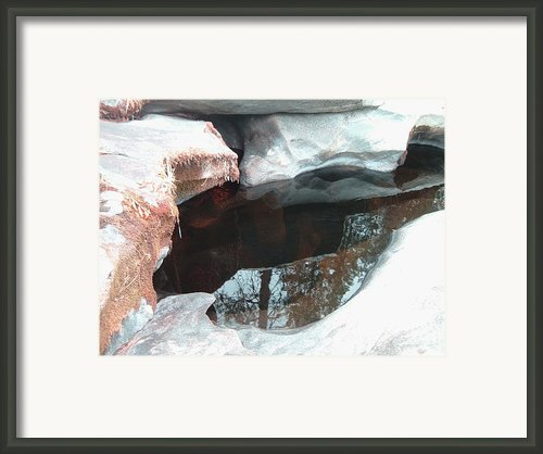 Stones And Water Framed Print By Irina  March