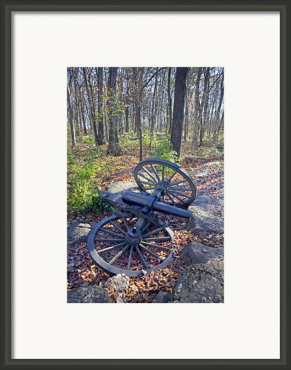 Stones River Battlefield Framed Print By Luc Novovitch