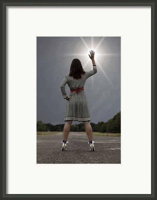 Stop The Sun Framed Print By Joana Kruse