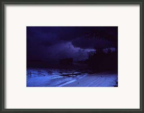 Storm At Dawn Framed Print By Bob Whitt