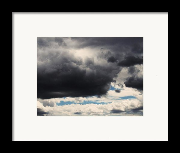 Storm Clouds-1 Framed Print By Todd Sherlock
