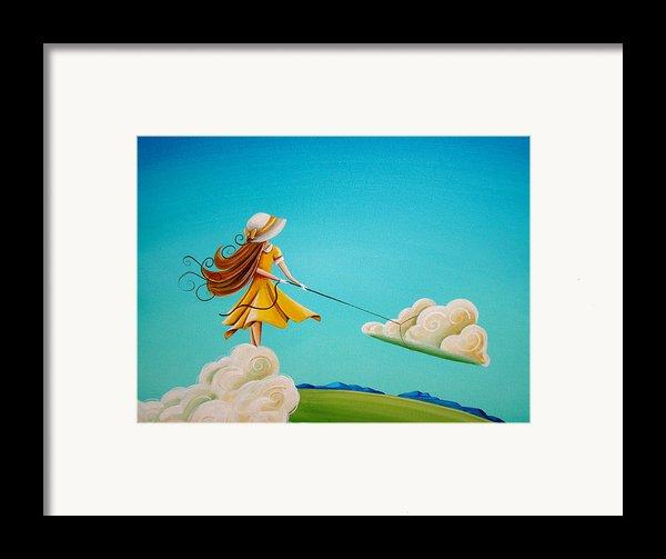 Storm Development Framed Print By Cindy Thornton