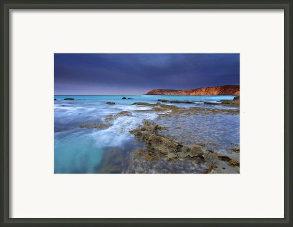 Storm Light Framed Print By Mike  Dawson