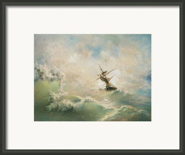 Storm Framed Print By Tigran Ghulyan
