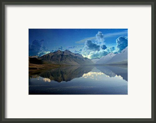 Stormy Lake Framed Print By Marty Koch