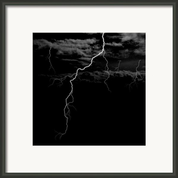 Stormy Night Framed Print By Brad Scott