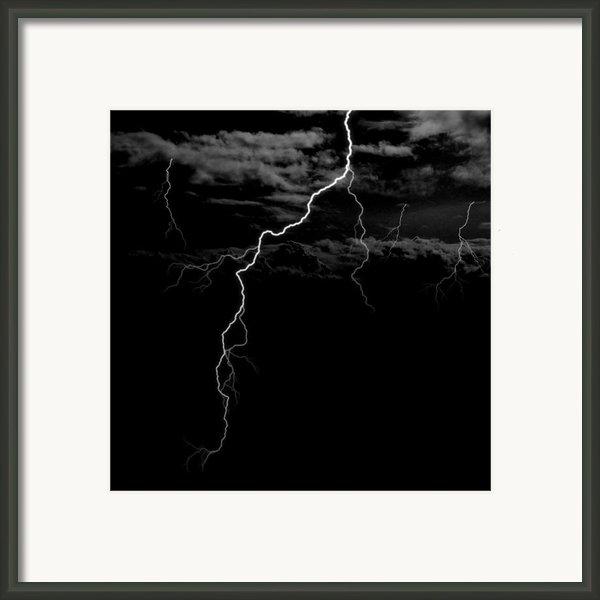 Stormy Night Framed Print By Brad Scott
