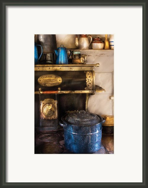 Stove - The Stove Framed Print By Mike Savad