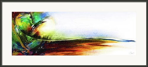 Straight Paths Framed Print By Shevon Johnson