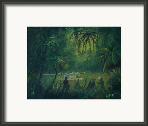 Strangers In Paradise Framed Print By William Bezik