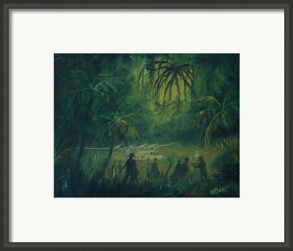 Strangers In Paradise Framed Print By W Bez