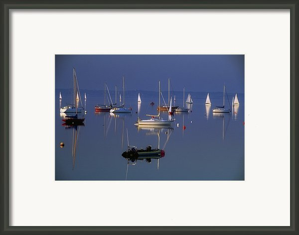 Strangford Lough, Co Down, Ireland Framed Print By Sici