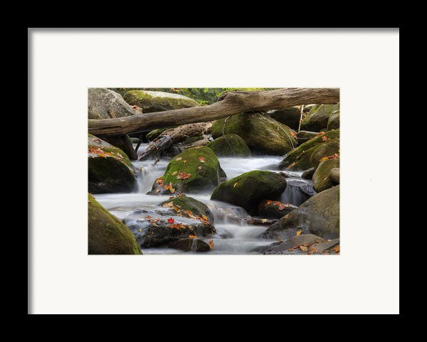 Stream Of Thought Framed Print By Charles Warren