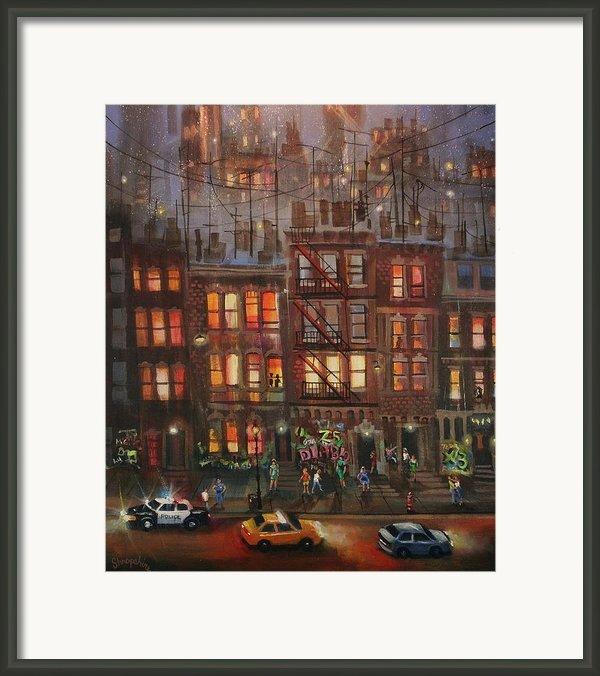 Street Life Framed Print By Tom Shropshire