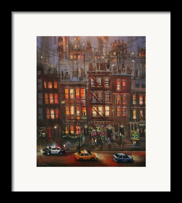 Street Life Framed Print By Tom Shropshire