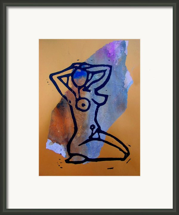 Stretching 1 Framed Print By Adam Kissel