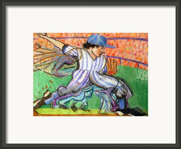 Stride Framed Print By Jame Hayes