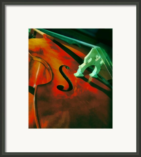 Strings Framed Print By Naman Imagery