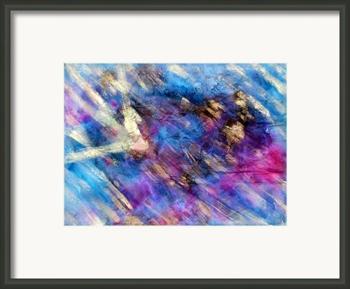 Strobe Light Framed Print By Don  Wright
