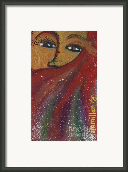 Strong Women Of The World Hope Framed Print By Ilisa  Millermoon