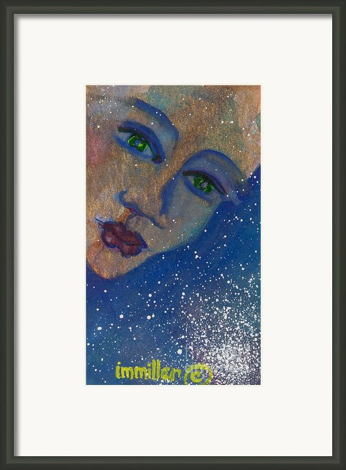 Strong Women Of The World Persuasion Framed Print By Ilisa  Millermoon