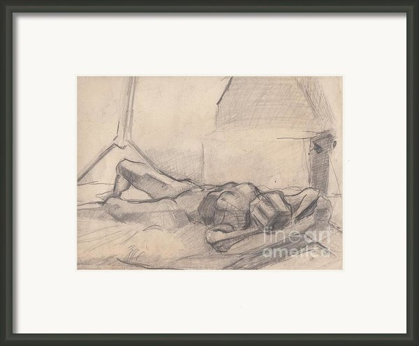 Study 10 Framed Print By Brian Francis Smith
