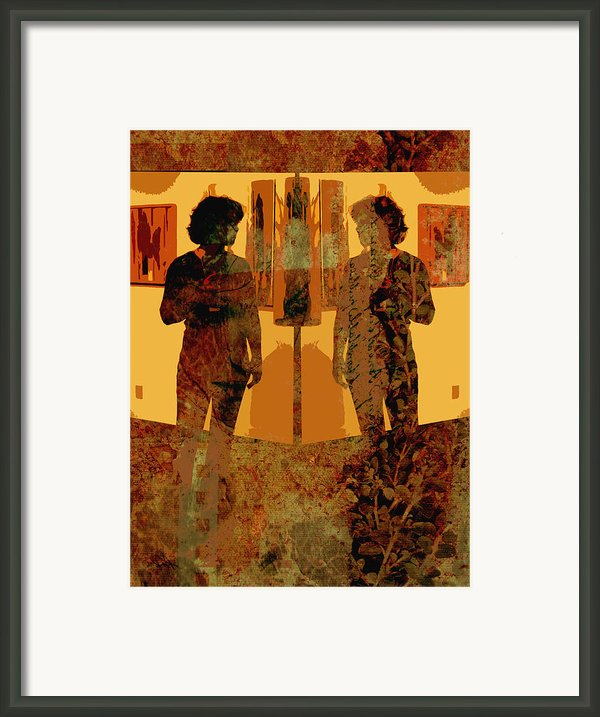 Study In Yellow Framed Print By Ann Powell