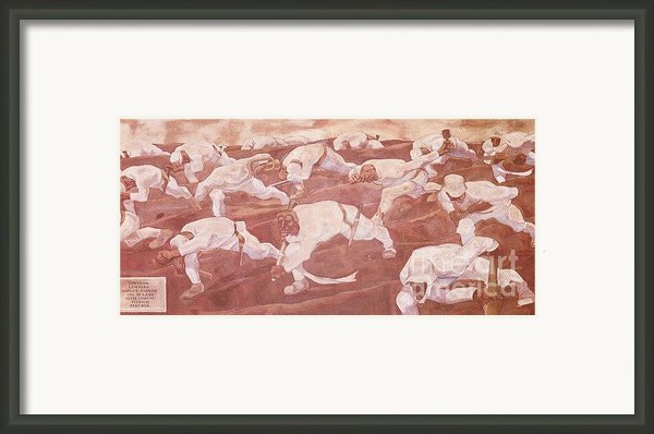 Sturm Dem Namelosen Framed Print By Pg Reproductions
