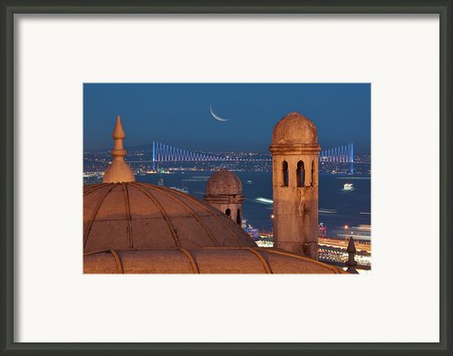 Suleymaniye Framed Print By Salvator Barki