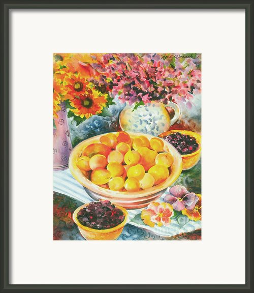 Summer Abundance Framed Print By Renee Womack