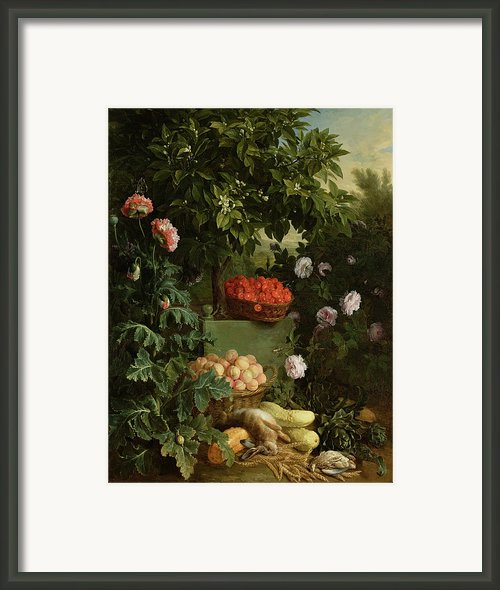 Summer Framed Print By Alexandre-francois Desportes