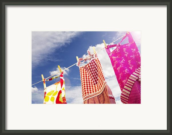Summer Breeze Framed Print By Rebecca Cozart