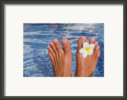 Summer Feet Framed Print By Alex Bramwell