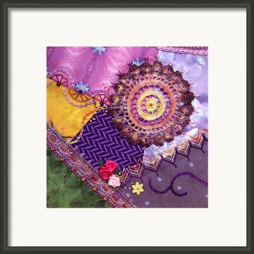 Summer Flowers #4 Framed Print By Masha Novoselova