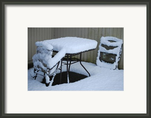 Summer Is Over Framed Print By Gene Ritchhart