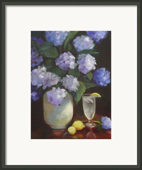 Summer Reprieve Framed Print By Melanie Miller Longshore