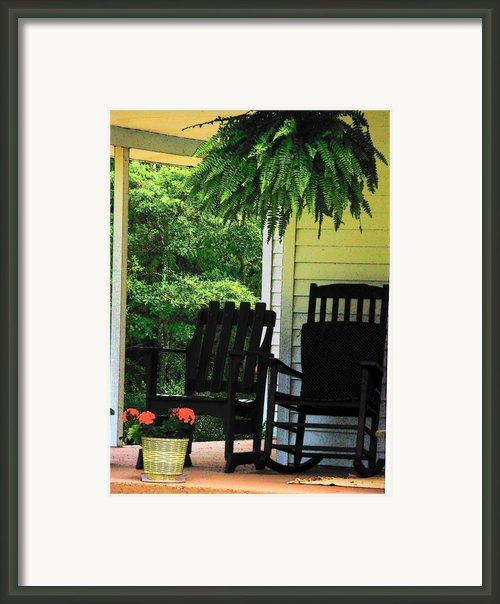Summer Sitting Framed Print By Joyce  Kimble Smith