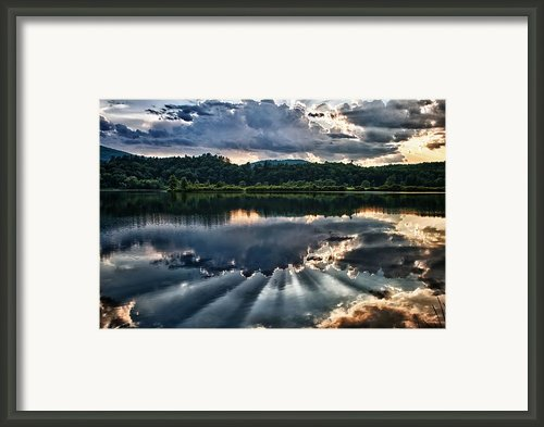 Summer Thunder Framed Print By Nathan Larson