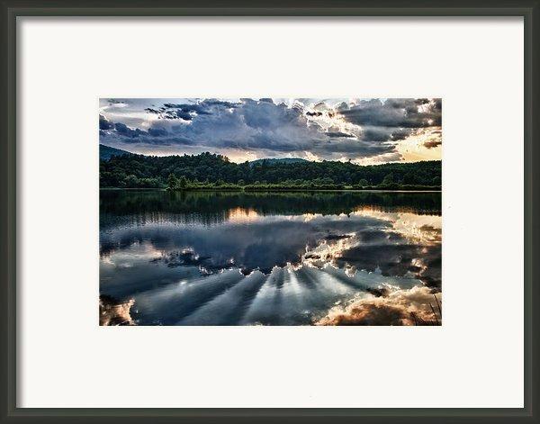 Summer Thunder Framed Print By Nathan Larson