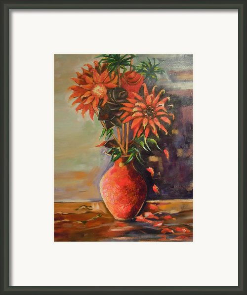 Summer Time Framed Print By Michael Echekoba