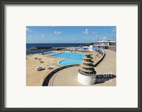 Summertime At Ribeira Grande Framed Print By Gaspar Avila