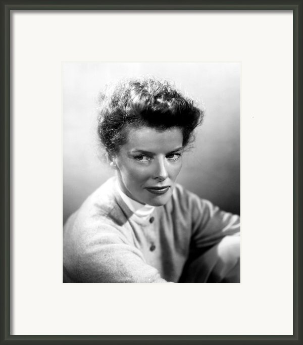 Summertime, Katharine Hepburn, 1955 Framed Print By Everett